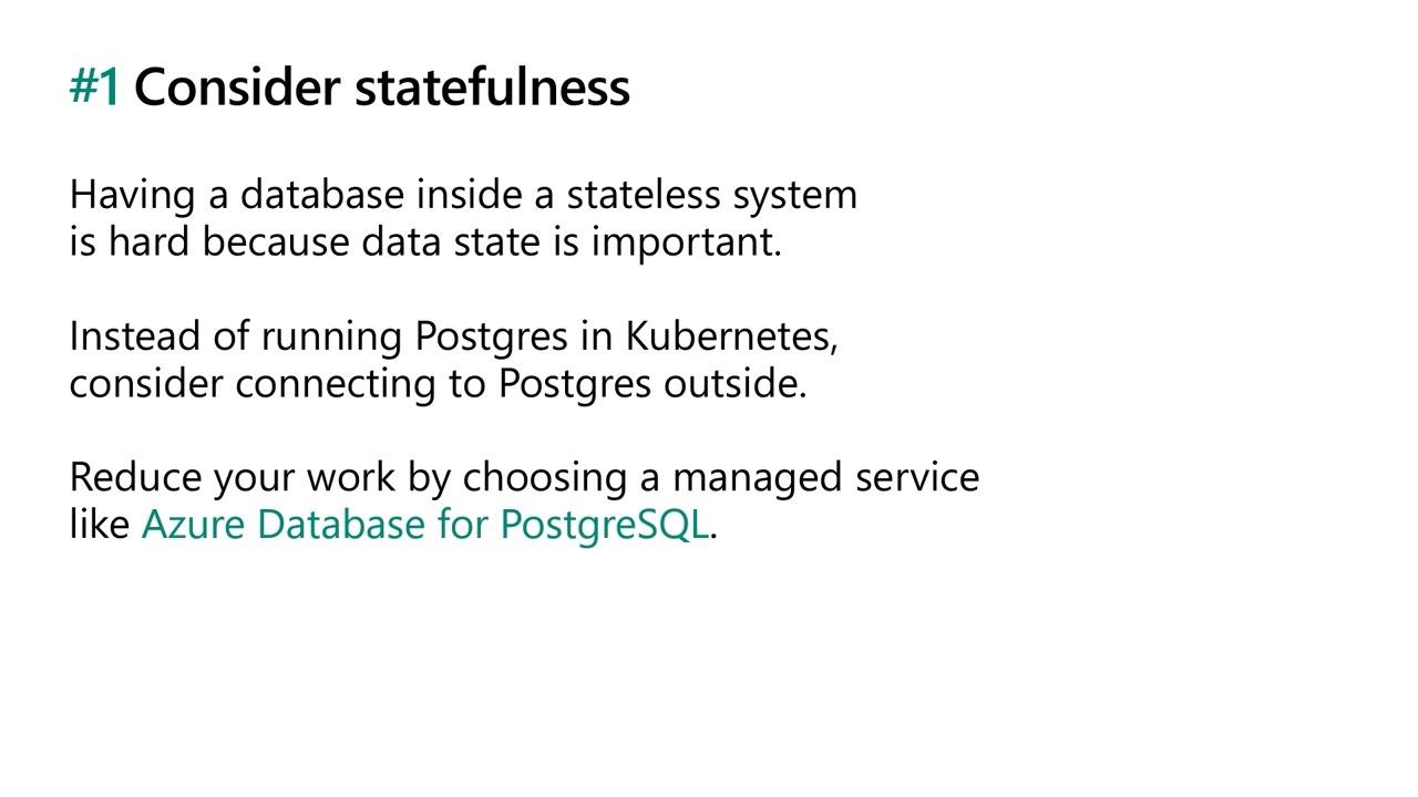 Develop microservice apps with PostgreSQL