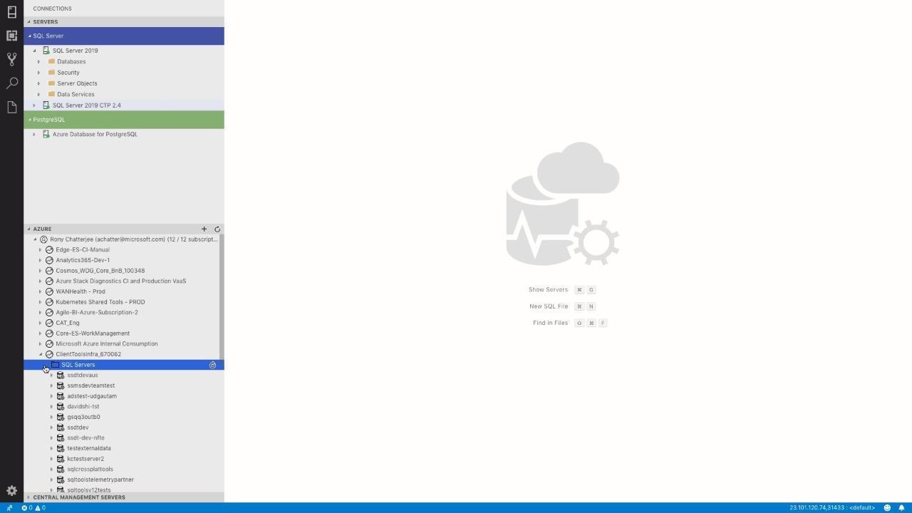 Machine Learning in Azure Data Studio