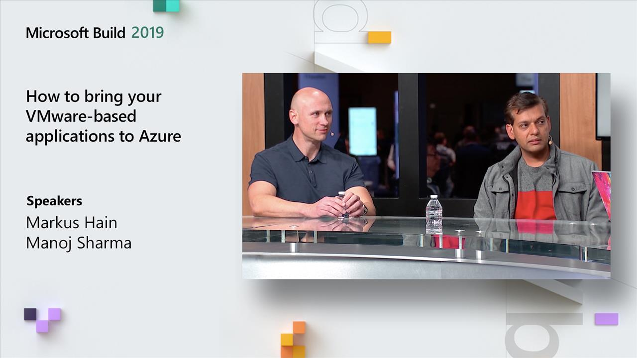 How to bring your VMware-based applications to Azure