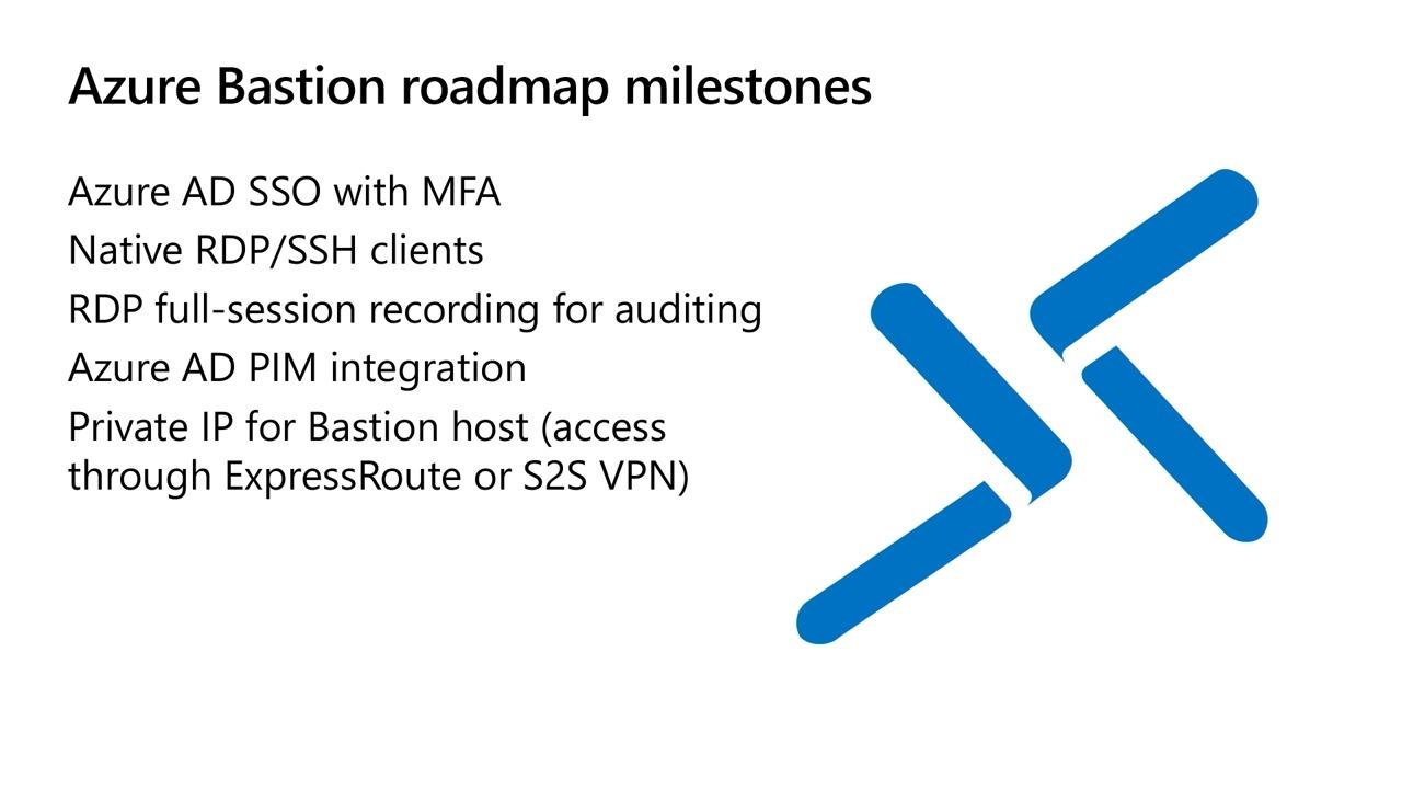 Secure VM administrative access with Azure Bastion