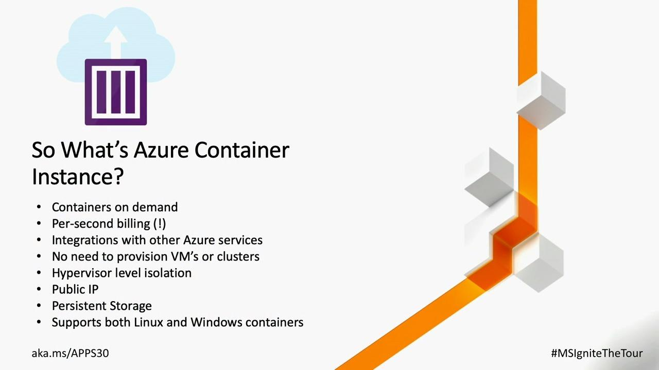 Modernizing your application with containers